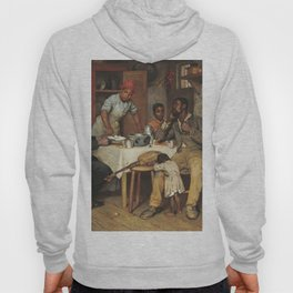 A Pastoral Visit, by Richard Norris Brooke, 1881, An African American family Hoody