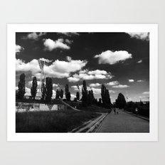Mauerpark Art Print