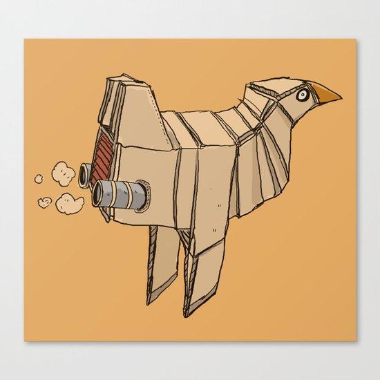Space Chicken Canvas Print