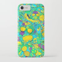 rio de janeiro iPhone & iPod Cases featuring Rio de Janeiro by Guilherme Marconi