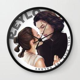 Contemplation Reylo Wall Clock