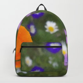 Mixed Flowers Backpack