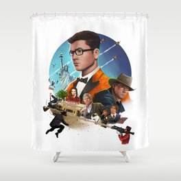 Kingsman - The Golden Circle Shower Curtain