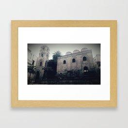 the San Cataldo chruch Framed Art Print