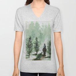 The Tree Farm Unisex V-Neck
