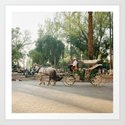 caleche / horse carriage in Marrakech by hanke