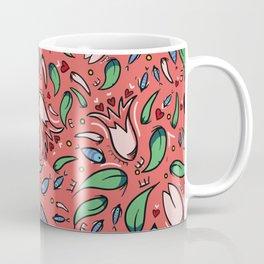 flower lily and fish Coffee Mug