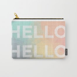Hello. Hello. Carry-All Pouch