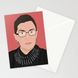 Ruth Bader Ginsburg | Bad Ass Women Series Stationery Cards