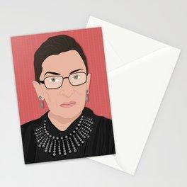 Ruth Bader Ginsburg | Bad Ass Women Series Stationery Cards