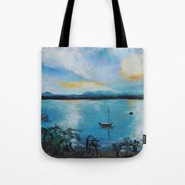 Lake Champlain at Sunset Tote Bag
