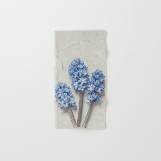 Light Blue Hyacinths Hand & Bath Towel