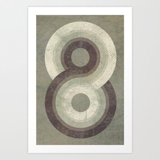 Eight Art Print
