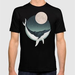 by the light of the moon T-shirt