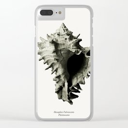 fossils nature Clear iPhone Case