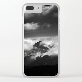 """Only one moment"" Clear iPhone Case"