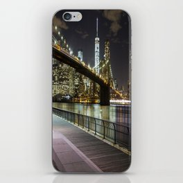 Brooklyn Bridge -  Timelapse iPhone Skin