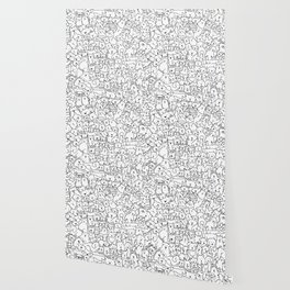 Dog Doodle Art Wallpaper