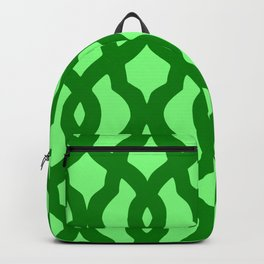 Grille No. 2 -- Lime Backpack