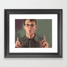 Good Morning John Framed Art Print