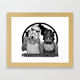 Join the Empire Framed Art Print