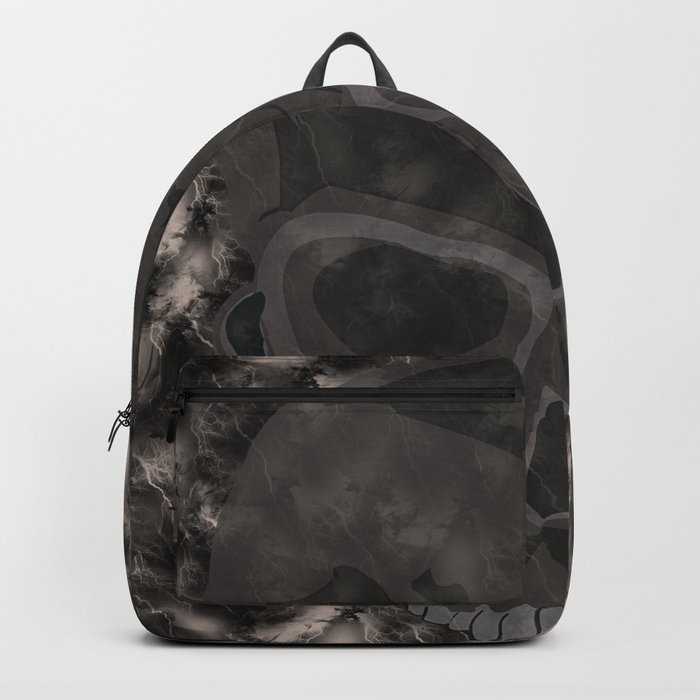 Abstract,Skull Backpack