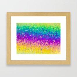 Nucleation Framed Art Print