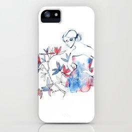 bonjour mademoiselle iPhone Case