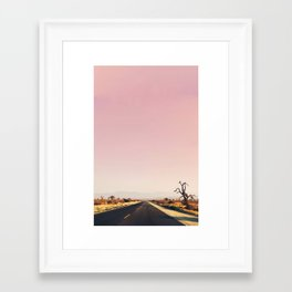 southwestern desert photo Framed Art Print