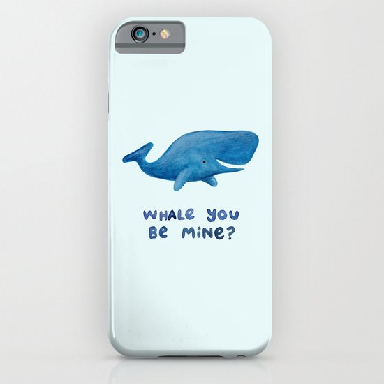 Whale You Be Mine? iPhone & iPod Case