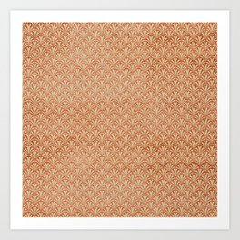Modern take on Classics - Rose Gold Art Print