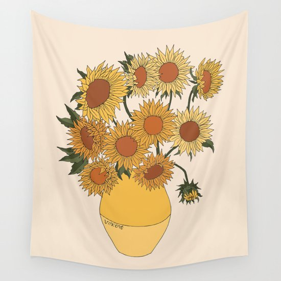 Van Gogh Sunflowers by rebeccaflattley