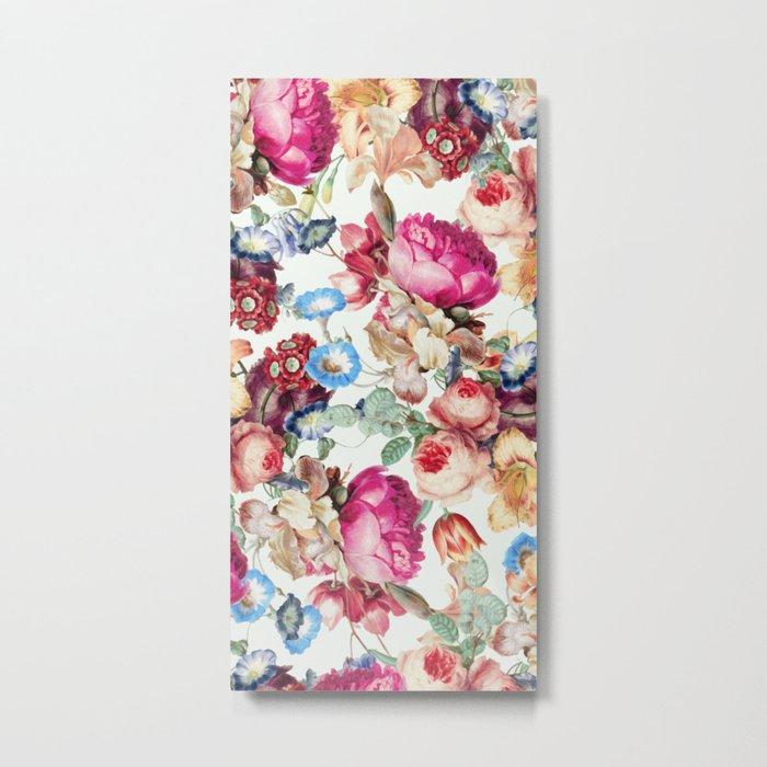 Floral Crush #society6 #decor #buyart Metal Print
