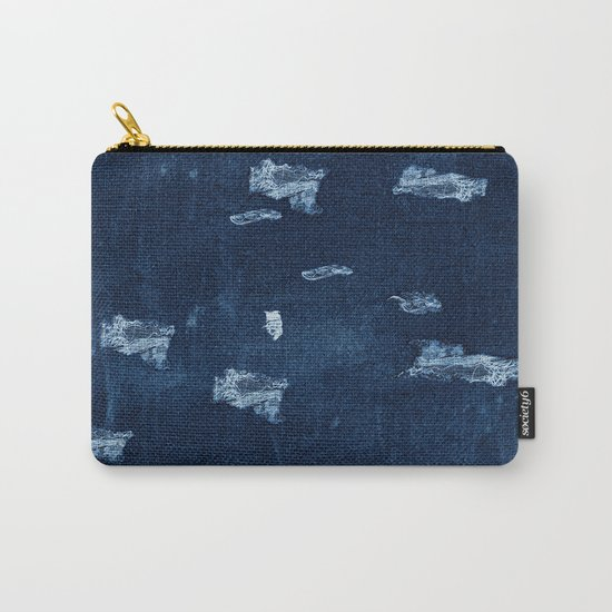 Patched Jeans  Carry-All Pouch