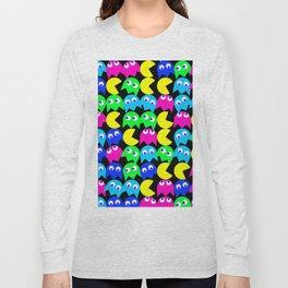 Pacman wallpaper Long Sleeve T-shirt