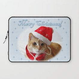 Mewy Christmas! Laptop Sleeve