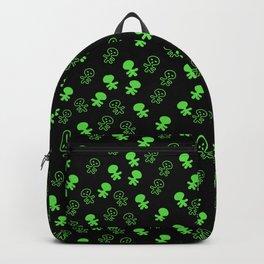 Aliens-Green Backpack