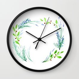 You Matter - Watercolor Nature Graphic Wall Clock