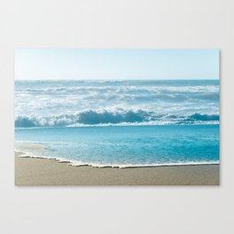 Blue Sea Backdrop Canvas Print