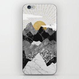 Sun rise iPhone Skin