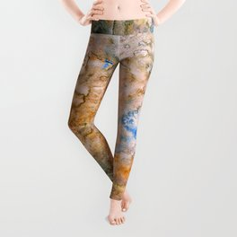 grungy texture Leggings