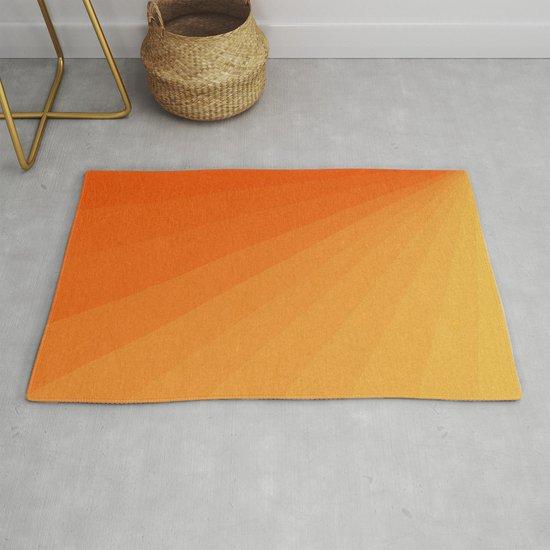 Shades of Sun - Line Gradient Pattern between Light Orange and Pale Orange by alisagal
