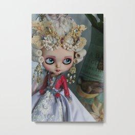 BAROQUE MARIE ANTOINETTE BLYTHE ART DOLL PINK Metal Print