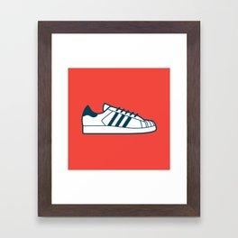 #56 Adidas Superstar Framed Art Print