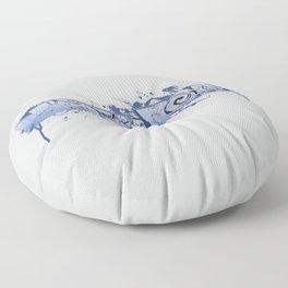 84 King St. New York Floor Pillow