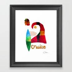 Cruise Framed Art Print