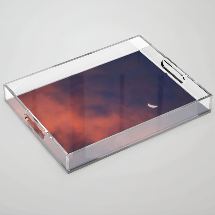 Hide and Go Find Moon Acrylic Tray