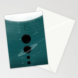 The Worlds (Aqua) Stationery Cards