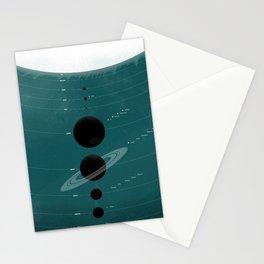 The Worlds (Aqua) Stationery Cards