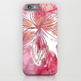 Lovely Lilly iPhone Case